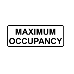REDUCED OCCUPANCY